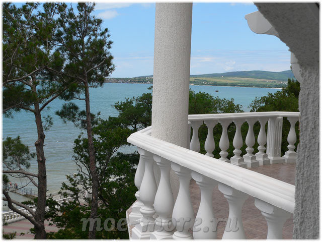 Вид на море с отеля Александрия