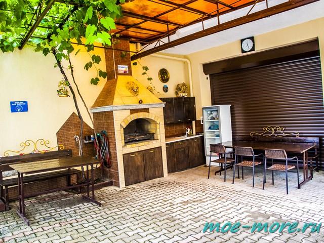 Гостевой дом Акрополис в Кабардинке