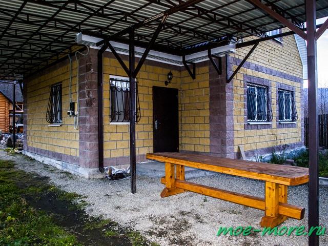 Гостевой дом Сад камней. Хамышки.